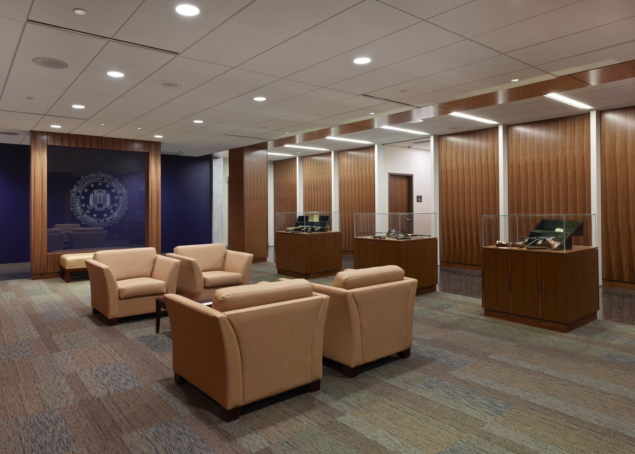 FBI Area Field Office Lobby