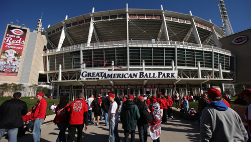 Great American Ballpark, Cincinnati, Oho